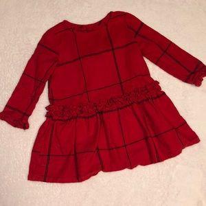 Flannel Gymboree little girls dress